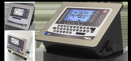Aplikace pro kontinuální dávkování I 410 WBF
